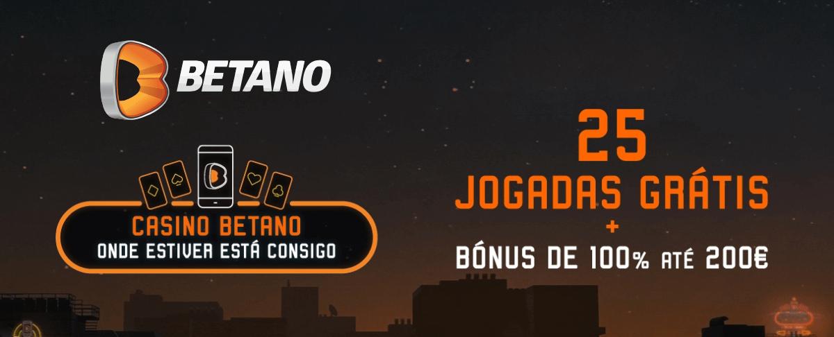Bónus de Boas-Vindas Casino Betano