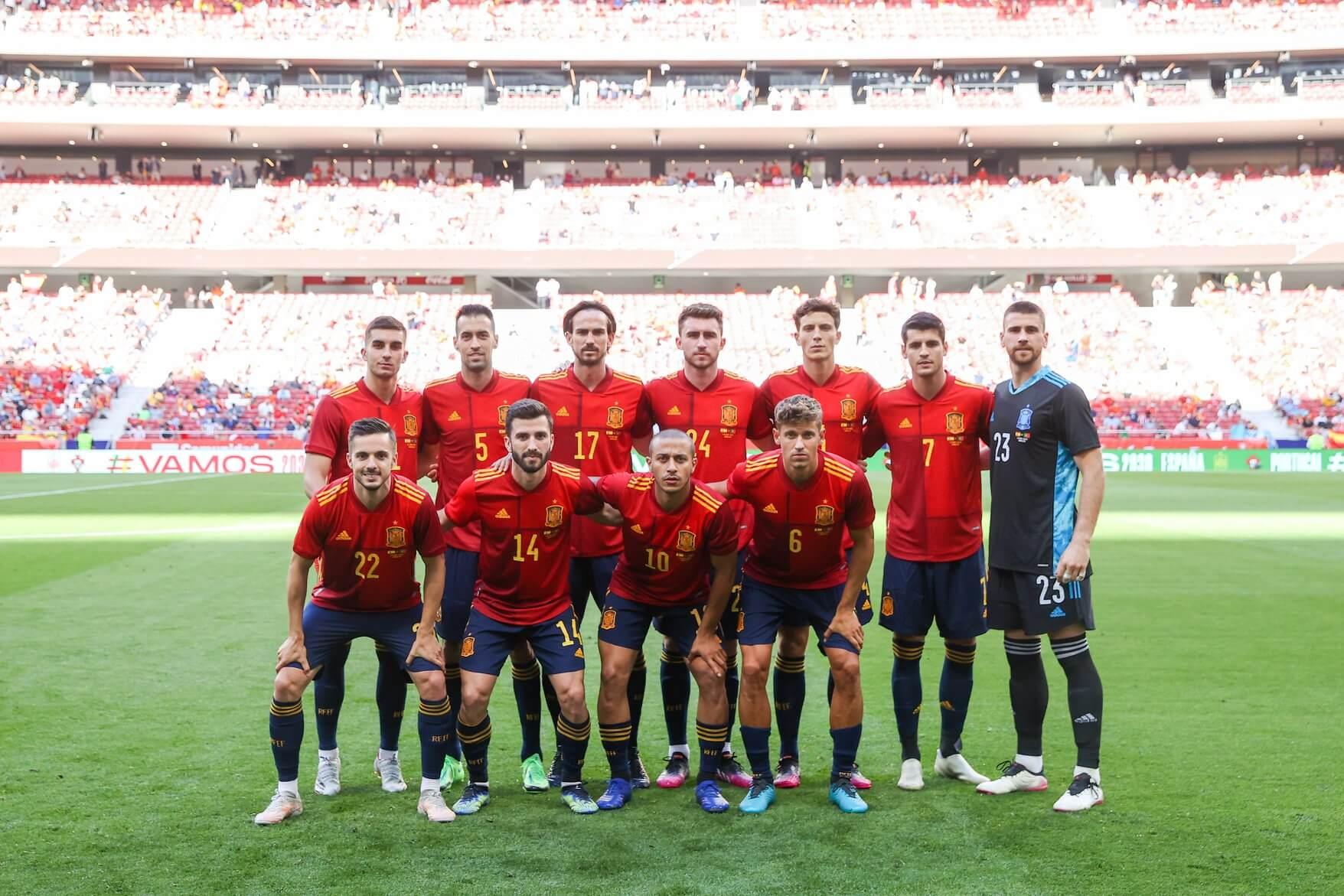 Escolha a Espanha nas suas apostas Euro 2020