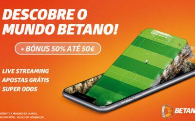 Betano Portugal » Bónus, SuperOdds e LiveStream » Review 2021